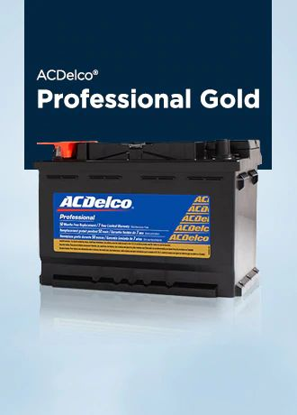 ACDelco® PROFESSIONAL GOLD